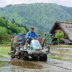 rice planting machine in Shirakawa-go, Gifu_441921964