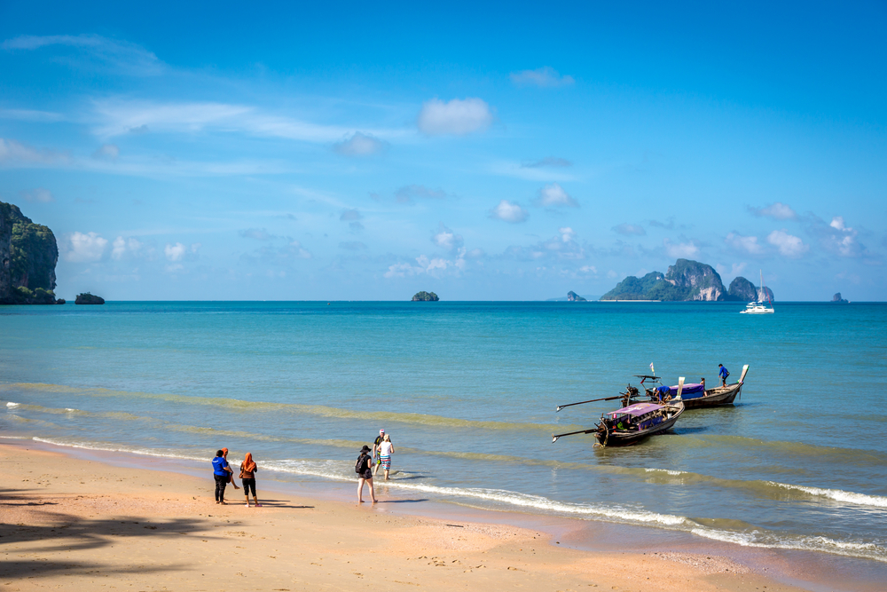 Krabi area in Thailand_442752601