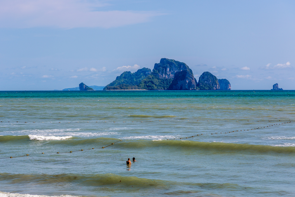 Krabi area in Thailand_442656994