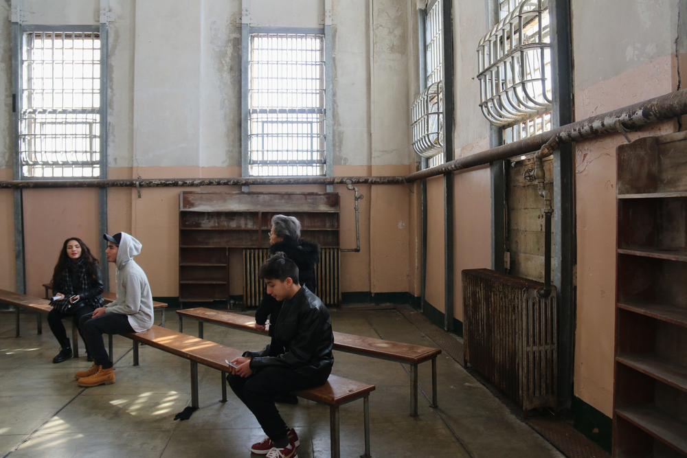 prison library at Alcatraz _376272916