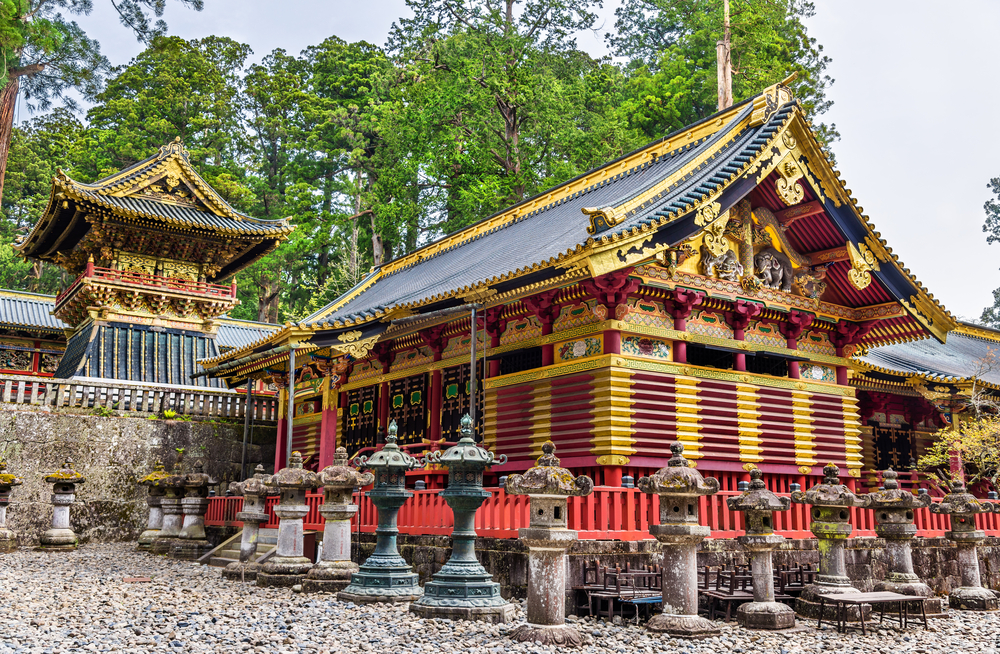 Tosho-gu, a Shinto shrine in Nikko_428657314