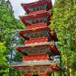 Five-storey Pagoda at Tosho-gu shrine in Nikko_428657329