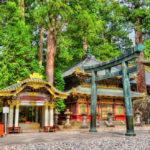 Gate of Toshogu shrine in Nikko _439931350