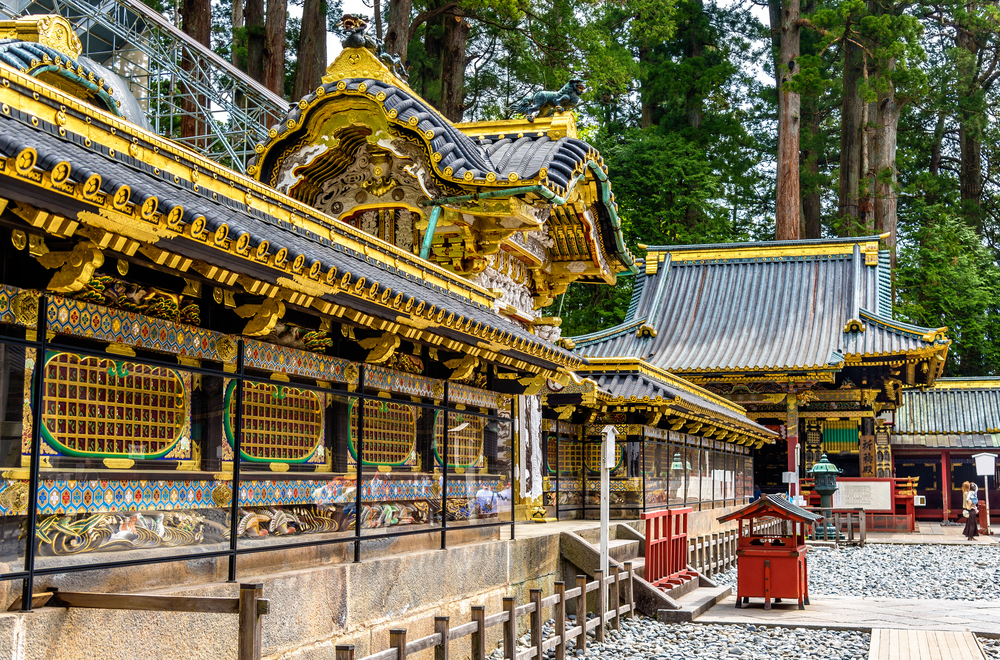 Tosho-gu, a Shinto shrine in Nikko_438285178