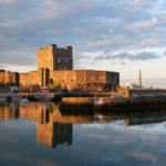 Medieval Norman Castle in Carrickfergus, Northern Ireland_369582047