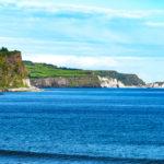 Northern Coast of Antrim County in Northern Ireland_402700528