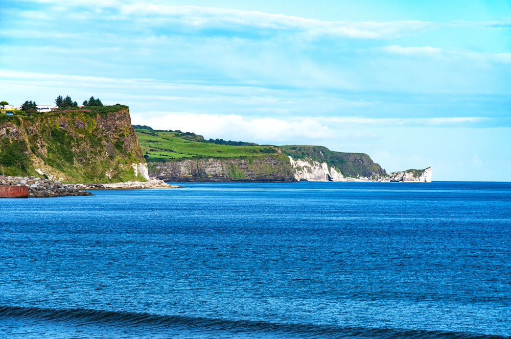 Northern Coast of Antrim County in Northern Ireland_402700528