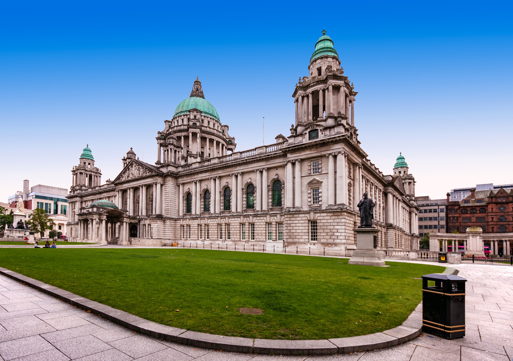Belfast City Hall in Northern Ireland_355240469
