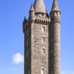 Scrabo Tower near Newtownards and Strangford Lough in County Down _322790420