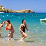 Greek girls in bikinis bali_433024699
