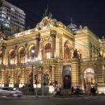 Municipal theater of Sao Paulo at night_293068157
