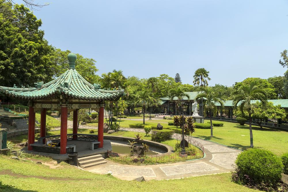 chinese garden in Rizal park, Manila_412282078