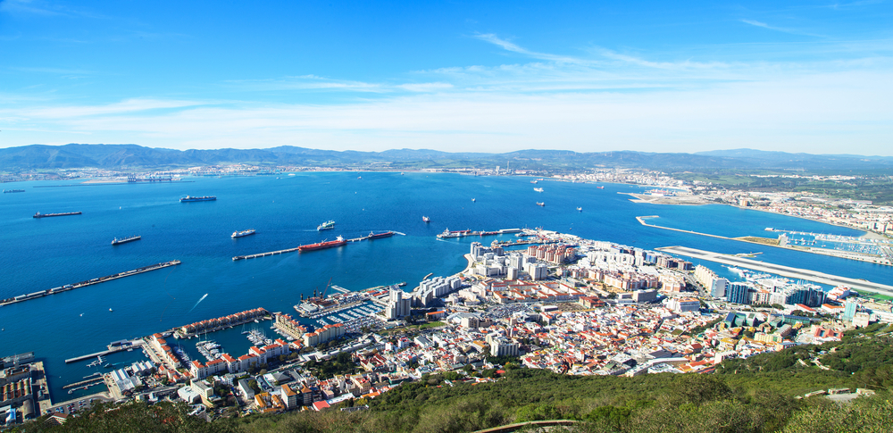 panorama of Gibraltar_253872178