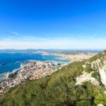 panorama of Gibraltar city_242278489