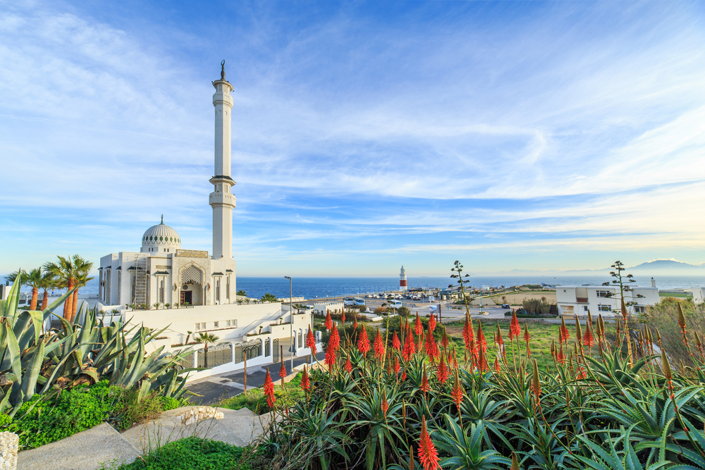 Mosque located near Europa Point on Gibraltar_242275474