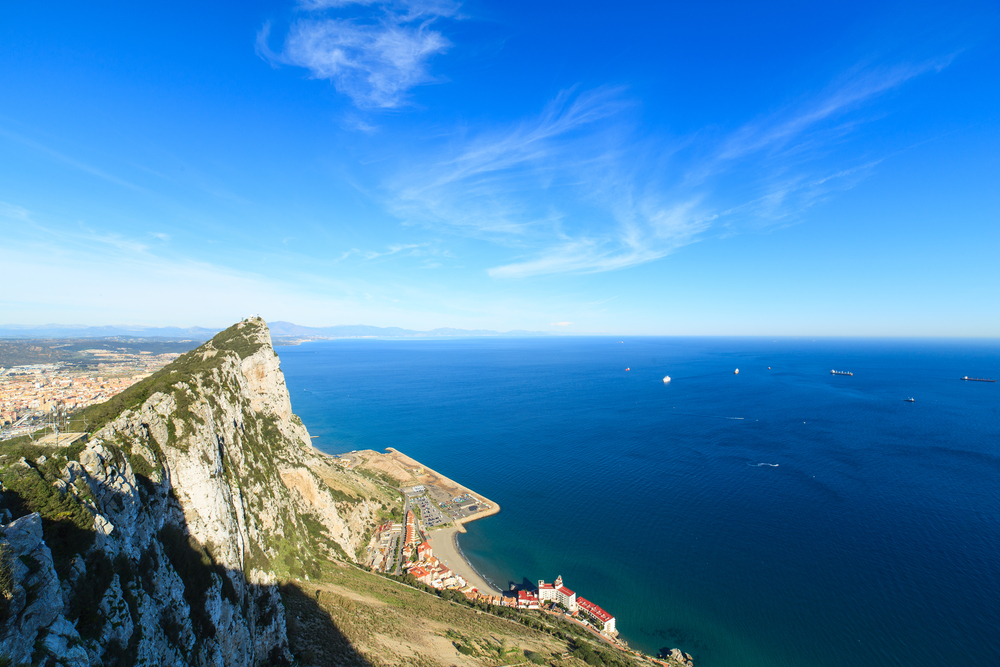 panorama of Gibraltar city_242278498