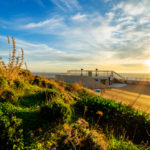 Sunset over Gibraltar_396650584