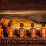 Golden statue of Buddha of Nirvana _274133204
