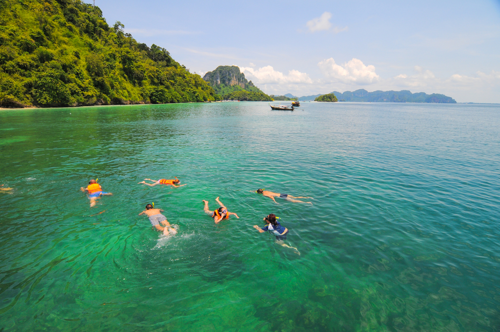 tropical clear sea in Krabi_317051270