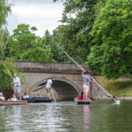 Punting in summer on the river Cam_315045410
