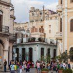 Plaza Vieja square in Havana Vieja_445495345