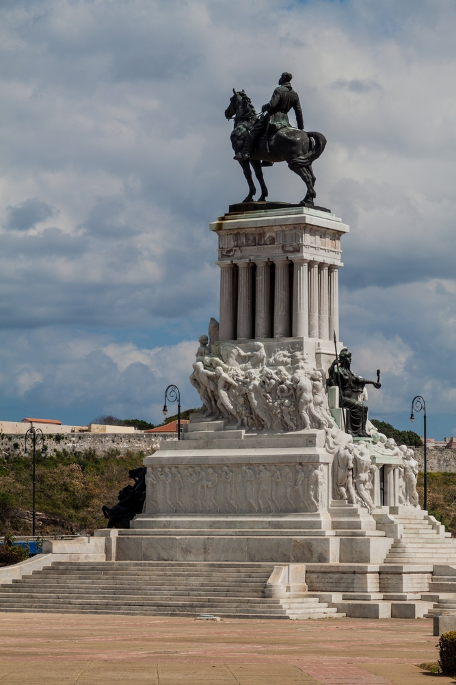 General Maximo Gomez monument in Havana_445192222