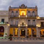 Plaza Vieja square in Havana Vieja_445192234