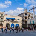 Plaza Vieja square in Havana Vieja_444581113