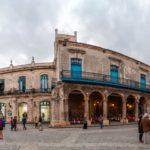 Plaza de la Catedral square in Habana Vieja_445192240