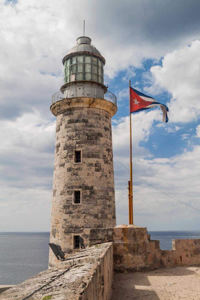 Lighthouse at the Morro castle_445019023