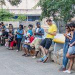 Fe del Valle park in Havana Centro neighborhood_444581089