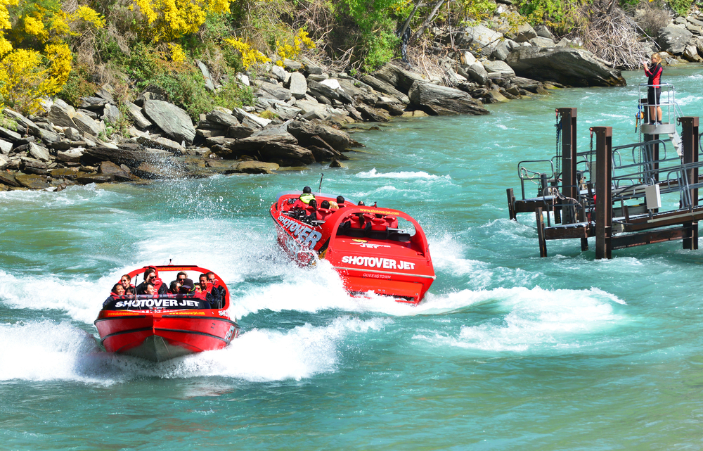Queenstown Shotover river _325995107