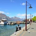 Ferries waiting at jetty of Lake Wakatipu, Queenstown_330270422