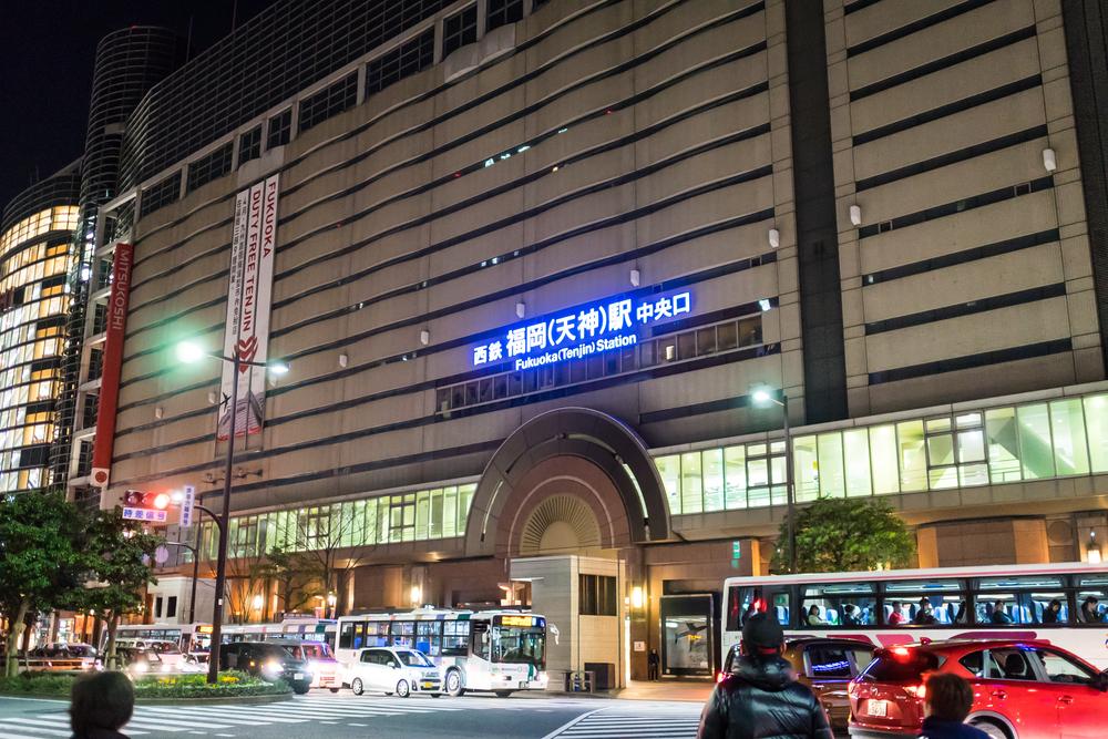 Fukuoka Tenjin Station_418840732