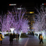holidays light decoration in Hakata Station_418847728