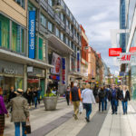 Stockholm famous shopping street _367424447