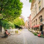 old town in Stockholm in Sweden_307939883