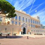 Beautiful building of Prince's Palace in Monaco-ville, Monaco_422613892