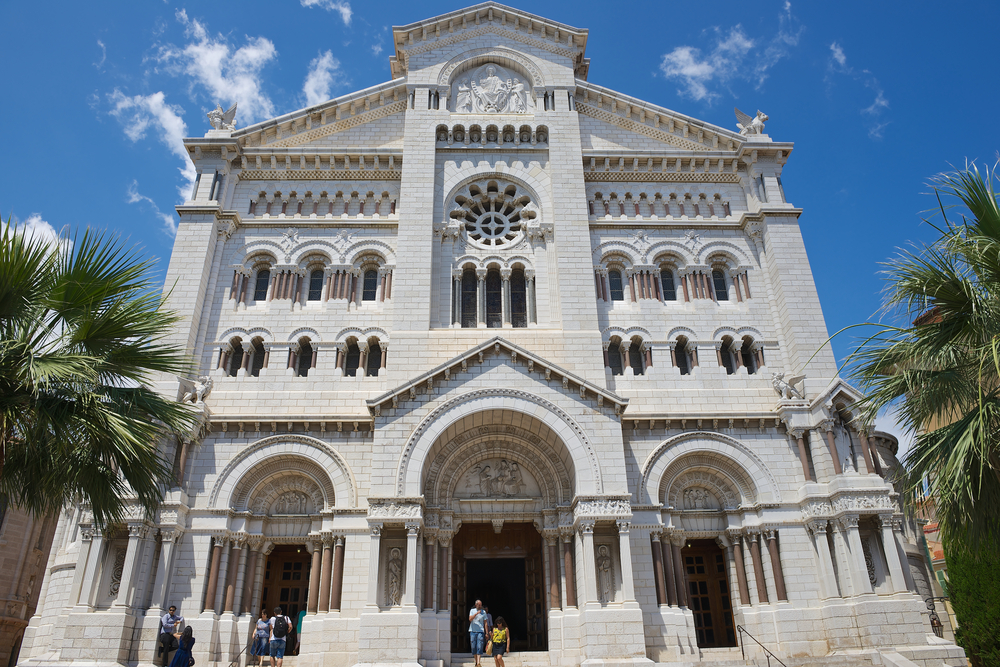 Exterior of the Monaco Cathedral (Cathedrale de Monaco)_289485032