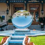 Fountain near Grand casino in Monte Carlo in Monaco_363314492