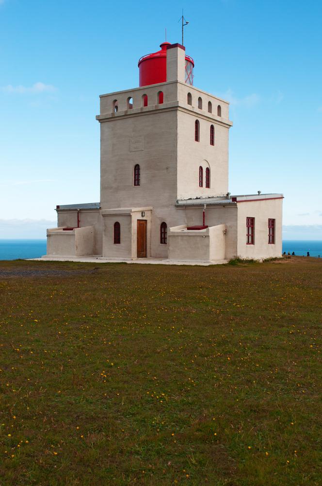 Dyrholaey lighthouse, Dyrholaeyjarviti in Icelandic_447588784