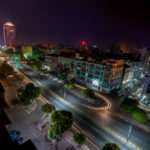 Yangon cityscape former capital of Myanmar_243404488