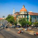 downtown of Yangon_397642663