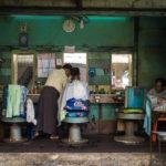 old barber shop in Yangon_263503517