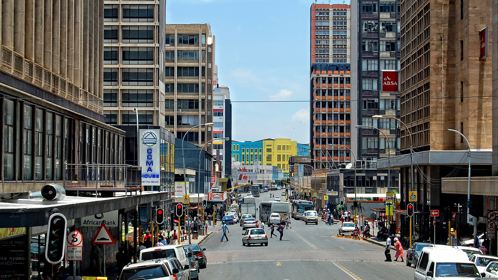 Modern view of Johannesburg_422631118
