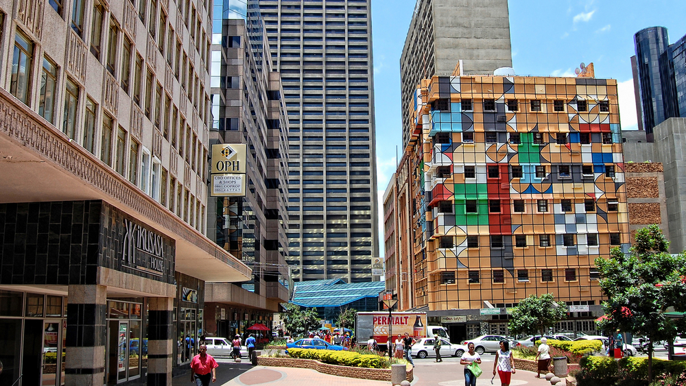modern view of Johannesburg_405322216