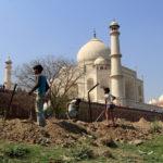 white marble mausoleum Taj Mahal_454897198