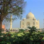 white marble mausoleum Taj Mahal _454270879