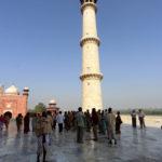 marble mausoleum Taj Mahal _170104046