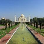 View of the Taj Mahal_454270300